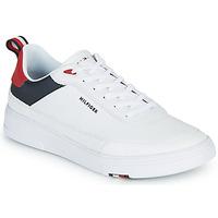 Schuhe Herren Sneaker Low Tommy Hilfiger MODERN CUPSOLE LEATHER Weiss