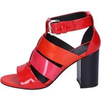 Schuhe Damen Sandalen / Sandaletten Hogan BK646 Rot