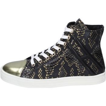 Schuhe Damen Sneaker Hogan BK650 Schwarz