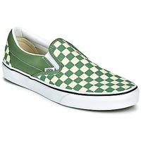Schuhe Herren Slip on Vans CLASSIC SLIP ON Grün