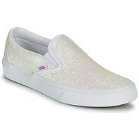 Schuhe Damen Slip on Vans CLASSIC SLIP ON Glitterfarbe / Beige / Rose