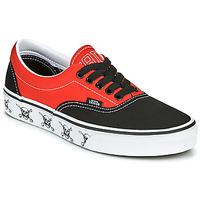 Schuhe Sneaker Low Vans ERA Schwarz / Rot
