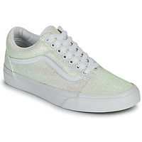 Schuhe Damen Sneaker Low Vans OLD SKOOL Weiss