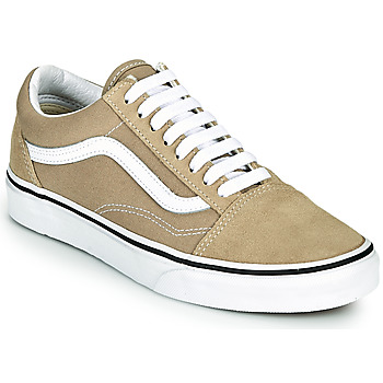 Schuhe Sneaker Low Vans OLD SKOOL Beige