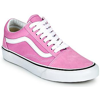 Schuhe Damen Sneaker Low Vans OLD SKOOL Violett