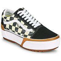 Schuhe Damen Sneaker Low Vans OLD SKOOL STACKED Schwarz / Weiss