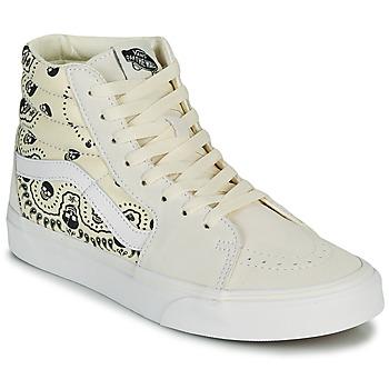 Schuhe Sneaker High Vans SK8 HI Beige / Schwarz