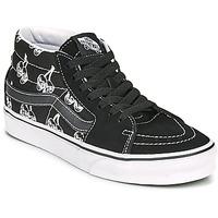 Schuhe Sneaker High Vans SK8 MID Schwarz / Weiss
