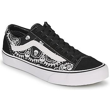 Schuhe Sneaker Low Vans STYLE 36 Schwarz / Weiss