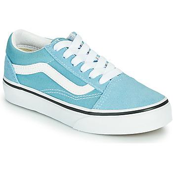 Schuhe Jungen Sneaker Low Vans OLD SKOOL Blau