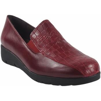 Schuhe Damen Slipper Bellatrix Damenschuh  10505 rot Rot