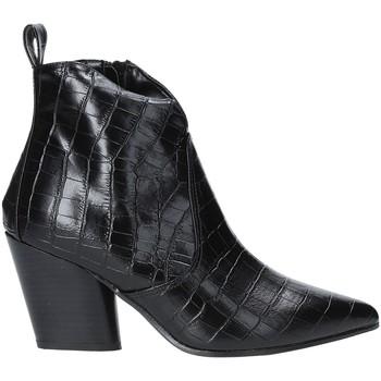 Schuhe Damen Low Boots Grace Shoes 7241007 Schwarz