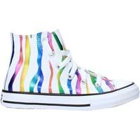 Schuhe Kinder Sneaker Converse 667600C Weiß
