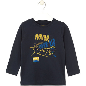 Kleidung Kinder T-Shirts & Poloshirts Losan 025-1635AL Blau