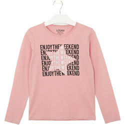 Kleidung Kinder T-Shirts & Poloshirts Losan 024-1631AL Rosa
