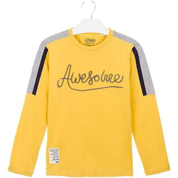 Kleidung Kinder T-Shirts & Poloshirts Losan 023-1008AL Gelb