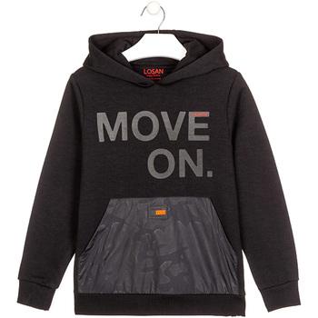 Kleidung Kinder Sweatshirts Losan 023-6006AL Schwarz