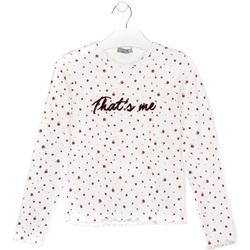 Kleidung Kinder T-Shirts & Poloshirts Losan 024-1008AL Weiß