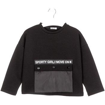 Kleidung Kinder Sweatshirts Losan 024-1015AL Schwarz