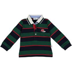 Kleidung Jungen Langärmelige Polohemden Melby 20C0270 Grün