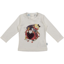 Kleidung Kinder T-Shirts & Poloshirts Melby 20C0361 Weiß