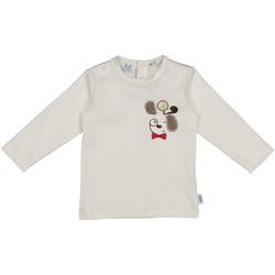 Kleidung Kinder T-Shirts & Poloshirts Melby 20C2150 Weiß