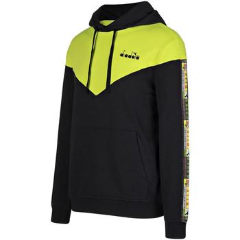 Kleidung Herren Sweatshirts Diadora 502176426 Schwarz