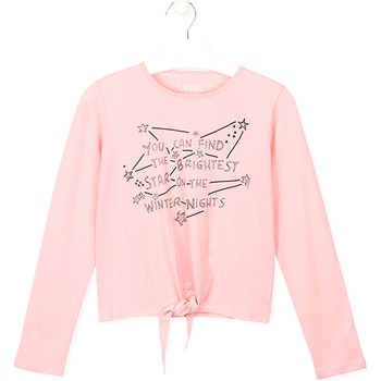Kleidung Kinder T-Shirts & Poloshirts Losan 024-1202AL Rosa