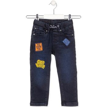 Kleidung Kinder Jeans Losan 025-6037AL Blau