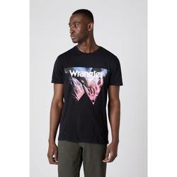 Kleidung Herren T-Shirts & Poloshirts Wrangler T-shirt  Cowboy Cool noir
