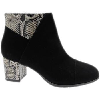 Schuhe Damen Ankle Boots Soffice Sogno SOSO20682ne nero