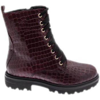 Schuhe Damen Boots Calzaturificio Loren LOC3918bor rosso