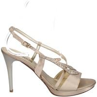 Schuhe Damen Sandalen / Sandaletten Melluso HJ420 PLATIN