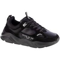 Schuhe Damen Sneaker Low Big Star GG274654 Schwarz