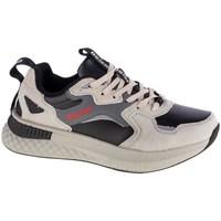 Schuhe Herren Sneaker Low Big Star GG174464 Schwarz, Grau, Beige