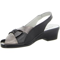 Schuhe Damen Sandalen / Sandaletten Longo Sandaletten Bequeme Sandaletten 1020273 schwarz