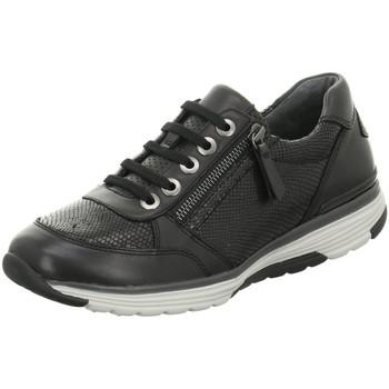 Schuhe Damen Sneaker Low Rollingsoft By Gabor Schnuerschuhe 56.973.67 67 schwarz