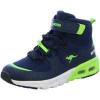 Schuhe Jungen Sneaker High Kangaroos Klettschuhe  Sneaker 32558 blau