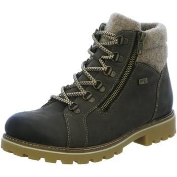 Schuhe Damen Stiefel Remonte Dorndorf Stiefeletten D7478-45 grau