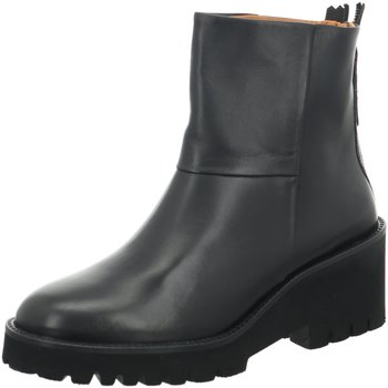 Schuhe Damen Stiefel Paul Green Stiefeletten Stiefelette 9757-037 schwarz