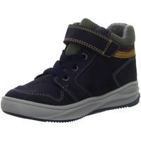Schuhe Jungen Sneaker High Richter High REISSVERSCHLUSSSTIEFEL 6756 8118 7201 blau