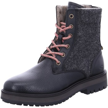 Schuhe Damen Stiefel Camel Active Stiefeletten Stone Mid lace boot 21141324/C00 C00 schwarz