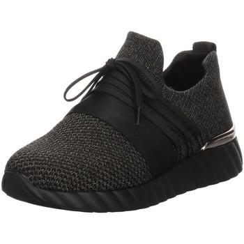 Schuhe Damen Sneaker Low Remonte Dorndorf Schnuerschuhe D5901-02 schwarz