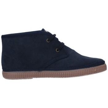 Schuhe Jungen Stiefel Natural World 521  (877) Niño Azul marino bleu