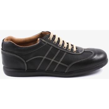 Schuhe Herren Sneaker Traveris 24102 Schwarz