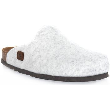 Schuhe Pantoletten / Clogs Bioline GHIACCIO MERINOS Bianco