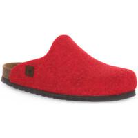 Schuhe Pantoletten / Clogs Bioline RIBES MERINOS Rosso