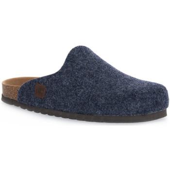 Schuhe Hausschuhe Bioline JEANS MERINOS Blu