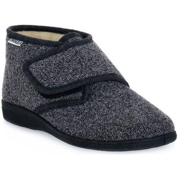 Schuhe Herren Hausschuhe Emanuela 995 EDGAR GRIGIO Grigio