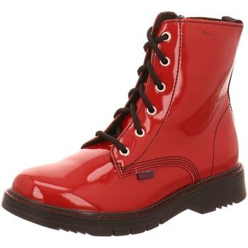 Schuhe Mädchen Stiefel Richter Schnuerstiefel 4672-8161-4500 rosso Lackleder 4672-8161-4500 rot